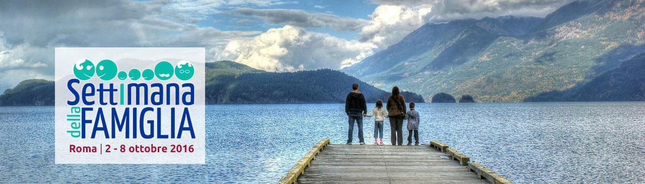 Famiglia al lago