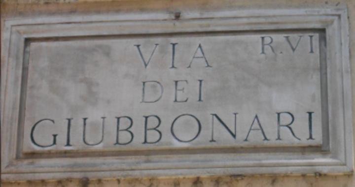 giubbonari