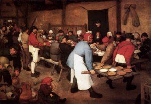 Pieter_Bruegel_the_Elder_-_Peasant_Wedding_-_WGA3491